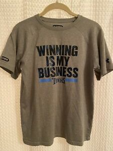UA Under Armour Tennessee Titans NFL Combine Authentic S/S T-Shirt Youth Large