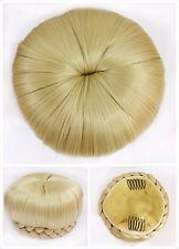Hair Bun, Perfect Braided, Hair Piece, Blond.
