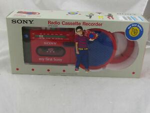 VTG NEW - Sony Radio Cassette Recorder CFM-2000 My First Sony NIB
