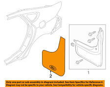 FORD OEM 13-16 Fusion-Mud Flap Splash Guard F6AZ16A550AA