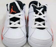 Nike Jordan 6 Retro Low Bt white/infrared 23 768883-123 sz 10C