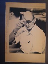 AP Wire Press Photo 1981 Former Israeli Foreign Minister Moshe Dayan dies #3