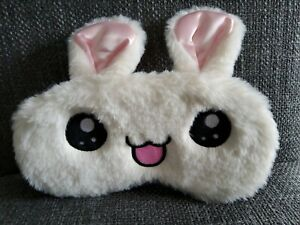Fluffy Rabbit Eye Sleep Masks X 2