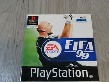 MANUEL ONLY NOTICE FIFA 99 PLAYSTATION 1 PS1 PSONE