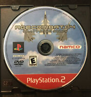 Ace Combat 4 Shattered Skies — Disc Only! (Sony PlayStation 2, ps2, 2001)