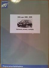 VW LUPO 1998-2006 telaio assi sterzo guida Riparazione