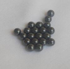 "New 20pcs (1/4"") 6.35mm Ceramic Diff Black Balls (Si3N4) Grade 5"
