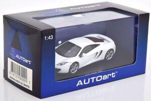 Mclaren MP4-12C Bianco 2011 1:43 Autoart Diecast