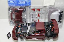 1/12 GMP CHEVROLET CORVETTE C5-R PROTOTYPE , RED JEWEL , #089 OF 100 UNIS ,