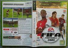 X-Box - Live - Fifa Football 2005 EA Sports Fußball DVD Bundesliga Games