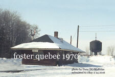 Canadian Pacific Railway Foster Quebec 1970 a