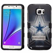 for Samsung Galaxy Note 5 Armor Case+Metal Kickstand Dallas Cowboys #BG