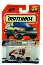 2000 Matchbox #96 On The Road Again Street Cleaner with 2000 logo