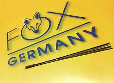 JEWELRY SAW BLADES #2/0 JEWELERS SAW FRAME 1DZ FOX GERMAN SAWS for METAL CRAFTS