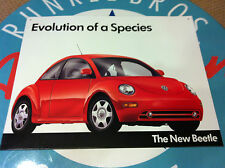 "classic ""VW THE NEW BEETLE - evolution of a species""  -  retro TIN SIGN -"