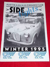 SIDELIGHTS - AUSTIN A30 A35 OWNERS CLUB - Winter 1995