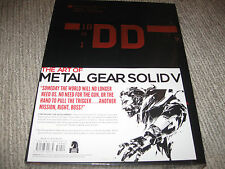 NEW The Art of Metal Gear Solid V 5 Official Hardcover Limited Edition Book MGS