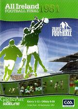 1981 GAA All-Ireland Football Final:  Kerry v Offaly  DVD