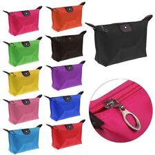 Waterproof Cosmetic Makeup Purse Wash Bag Organizer Pouch Pencil Case Handbag UK