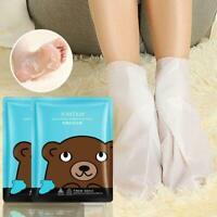 Dead Skin Remover Fußmaske Peeling Fußmaske Socken Pediküre Peeling Maske L3F5