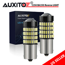 2Pcs 1156 Ba15S P21W 7506 Led Backup Signal Light Bulbs 102Smd 6000K Xenon White