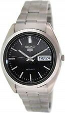 Seiko Men's 5 Automatic SNX115K Black Stainless-Steel Automatic Watch Brand New