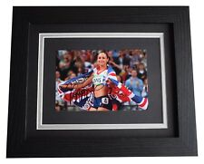 Jessica Ennis-Hill Signed 10x8 Framed Photo Autograph Display Olympic Heptathlon