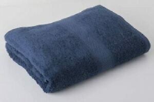 Navy Blue Luxury Hotel Egyptian 100% Cotton Face Cloths Towels Flannel 30x30cm