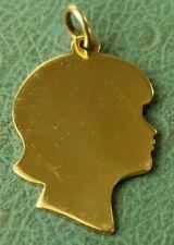 James Avery 14k Girl Silhouette Charm