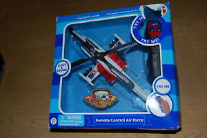 REMOTE CONTROL AIR FORCE HELICOPTER WITH REAL BATTLE SOUNDS & LIGHTS- BNIP