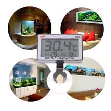 For Fish Tank Digital Thermometer High Low Temperature Alarm Automatically 0~37℃