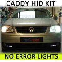 VW CADDY BEETLE H7 CANBUS HID XENON CONVERSION KIT 35W 4300K 5K 8K bulb colour