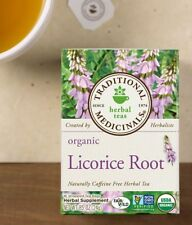 Traditional Medicinals Licorice Root organic tea