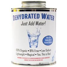 Dehydrated Water 16oz Can Funny Gag Gift New Formula Essential Camping Survival