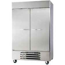 Beverage Air Hbr44Hc-1-S Solid Door Two Section Reach-In Refrigerator