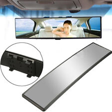 1x New Car Interior Rear View Mirror Wide-angle Convex Big Vision Curved Mirror