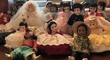 "New ListingMadame Alexander 8"" Lot of 16 Dolls With Boxes Great Value"