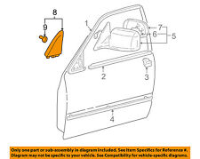 Genuine Toyota 87910-07070-B0 Rear View Mirror Assembly