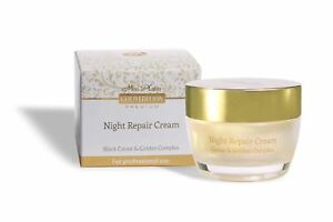 Mon Platin Dead Sea Gold Edition Night Repair Cream W Black Caviar 50ml