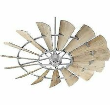 Quorum 72 Inch Windmill Indoor Ceiling Fan - Weathered Oak