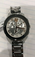 100% AUTHENTIC NWT! MOVADO BOLD 3600205 SILVER TONE ROMAN DIAL WOMEN'S WATCH