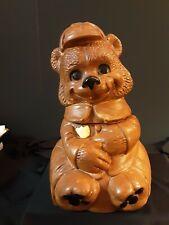 DeForest Brown Bear Park Ranger Cookie Jar Vintage