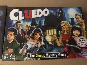 NEW Hasbro Cluedo The Classic Mystery Board Game Brand New Sealed