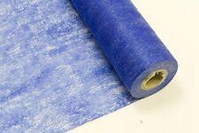 1 rouleau intissé bleu royal 29 cm x 10m. Chemin de table. Décoration de mariage
