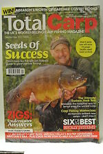 Total Carp Fishing Magazine. September, 2013. Seeds Of Success. Brolly Systems.