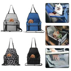 Folding Pet Dog Cat Car Seat Travel Carrier Puppy Handbag Side Bag Basket Cage