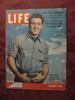 LIFE Magazine October 3 1955 Oct 55 Rock Hudson Argentina Harry Truman