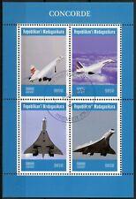 Madagascar 2019 CTO Concorde 4v M/S Transport Aviation Stamps