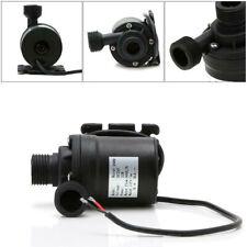Solar Water Heater Brushless Motor Circulation Water Pump DC 12V 24V 800L/H 5m D