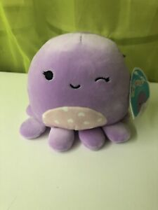 """BNWT 5"""" Violet the Octopus Squishmallow *Canadian Exclusive HTF Squishmallows*"""